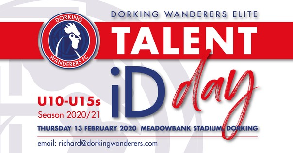 DWE Talent ID Day graphic facebook