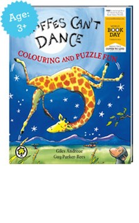 Giraffes Cant Dance Colouring and Puzzle