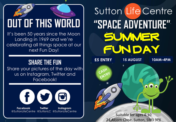 Leaflet - Summer Fun Day Space Adventure