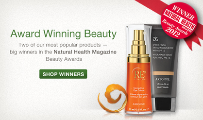 Natural Health Magazine Beauty Awards