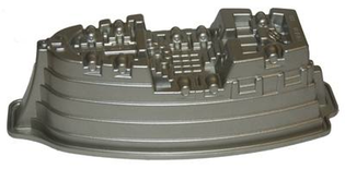 Pirate Ship Cake Tin (Hire Only)