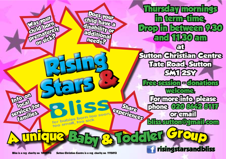 Rising Stars & Bliss Flyer Oct 12