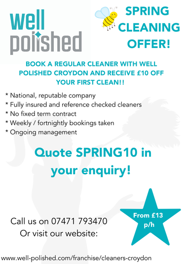 SPRING CLEANING OFFER!